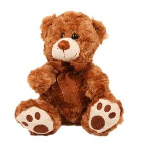Teddybär Browny mit großen Tatzen zusammen mit Ihrem Blumenstrauß online verschicken.