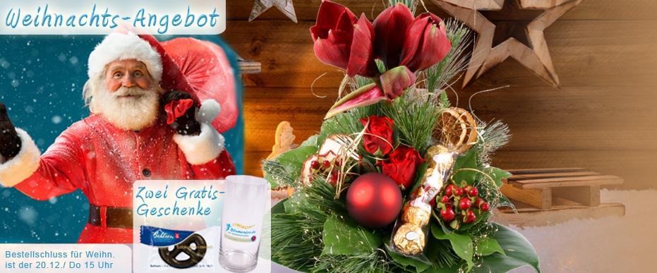 Advents/Weihnachts Blumenstrauß online versenden