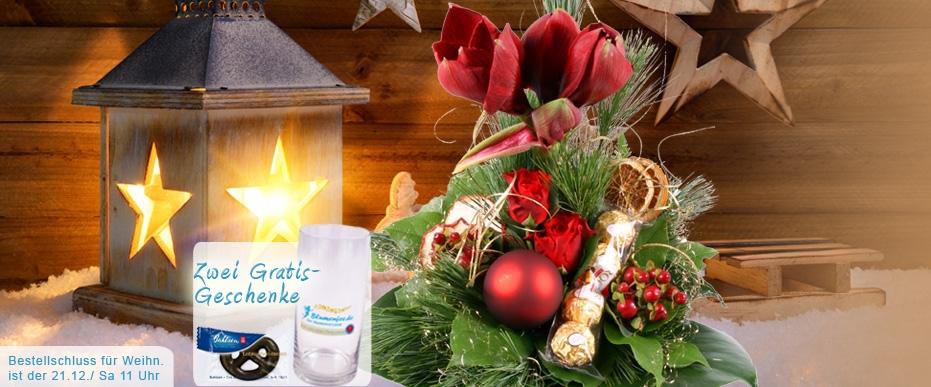 Blumenversand Weihnachten / Advent online