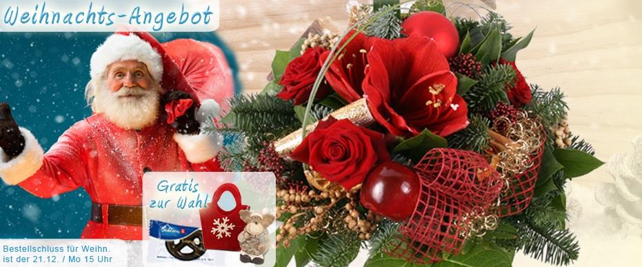 Weihnachts / Adventsstrauss online verschicken