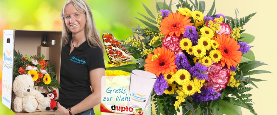 Muttertag Blumenversand / Sommer Blumenstrauss online verschicken