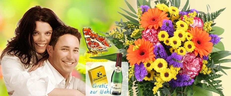 Blumenversand Blumenstrauss Sommer-Wiese online versenden