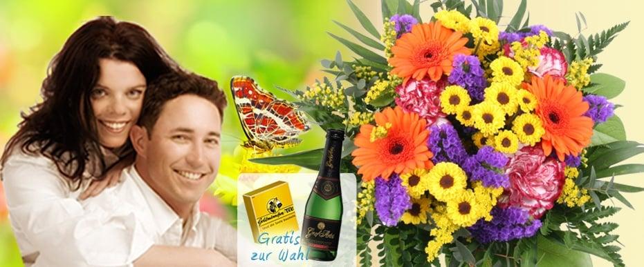 Blumenversand Sommer-Blumenstrauss Sommer-Wiese online versenden