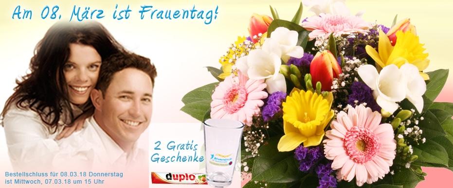 Blumenversand Frauentag online Fruehlingsstrauss