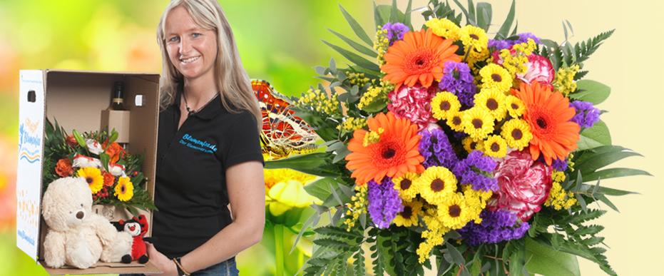 Blumenstrauss Sommer-Wiese online versenden
