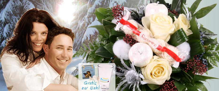 Winter Blumenstrauss online versenden