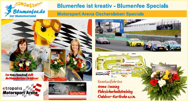 Blumenfee Motorsport Gutscheine online versenden